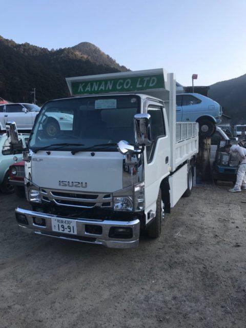 2月下旬に納車(^O^)3Tダンプ新車購入。