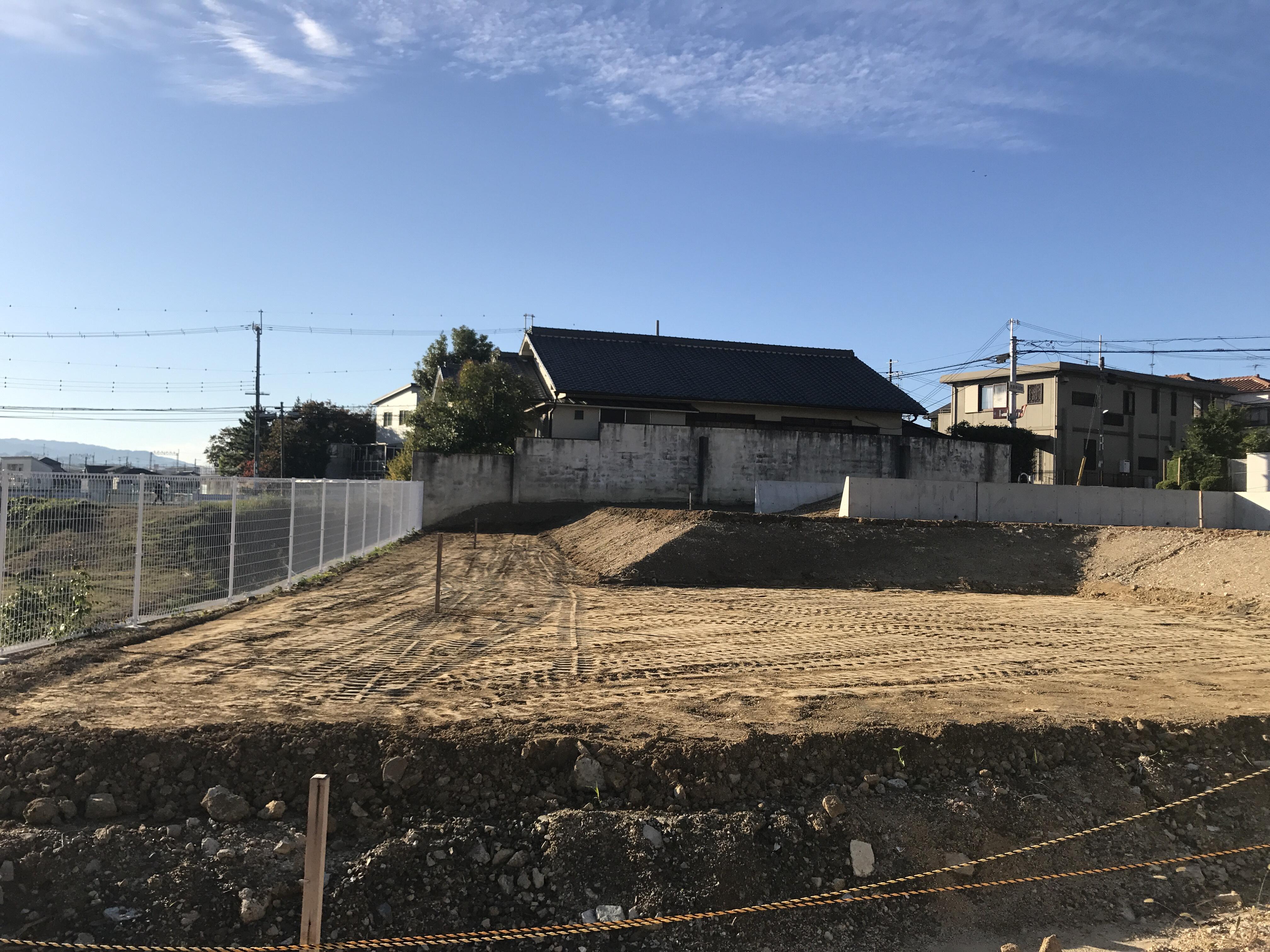 堺市東区南野田集合住宅造成工事