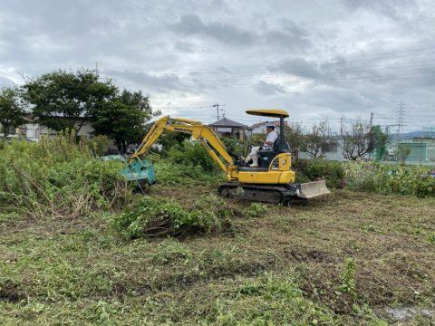 阪南市下出開発工事